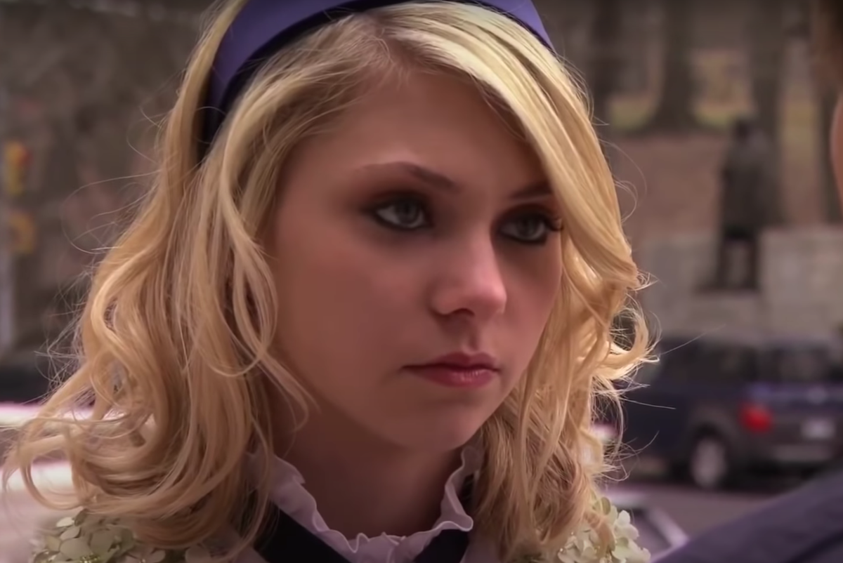 "Taylor Momsen as Jenny Humphrey on ""Gossip Girl"""