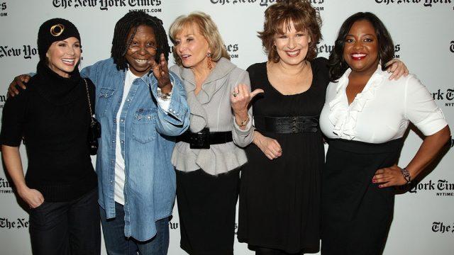 Elisabeth Hasselbeck, Whoopi Goldberg, Barbara Walters, Joy Behar, and Sherri Shepherd 2009