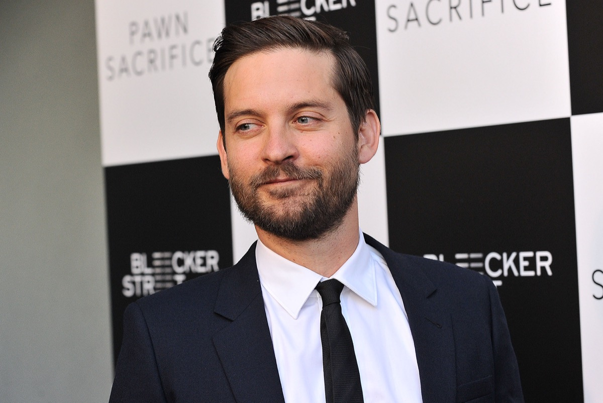 Tobey Maguire 2015