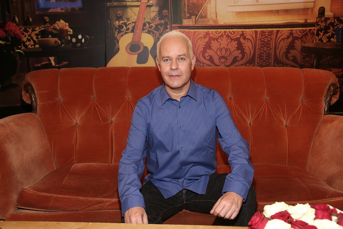 """James Michael Tyler on the """"Friends"""" couch"""