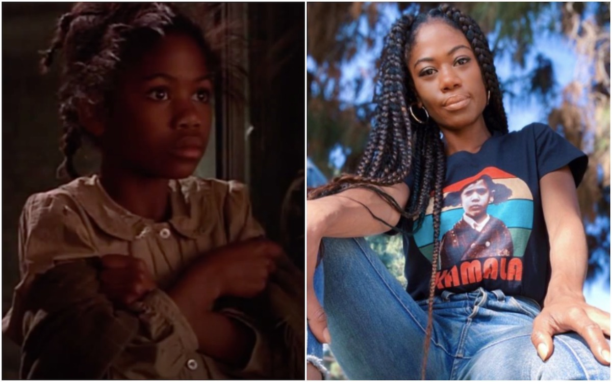Vanessa Carter, star of A Little Princess, then and now