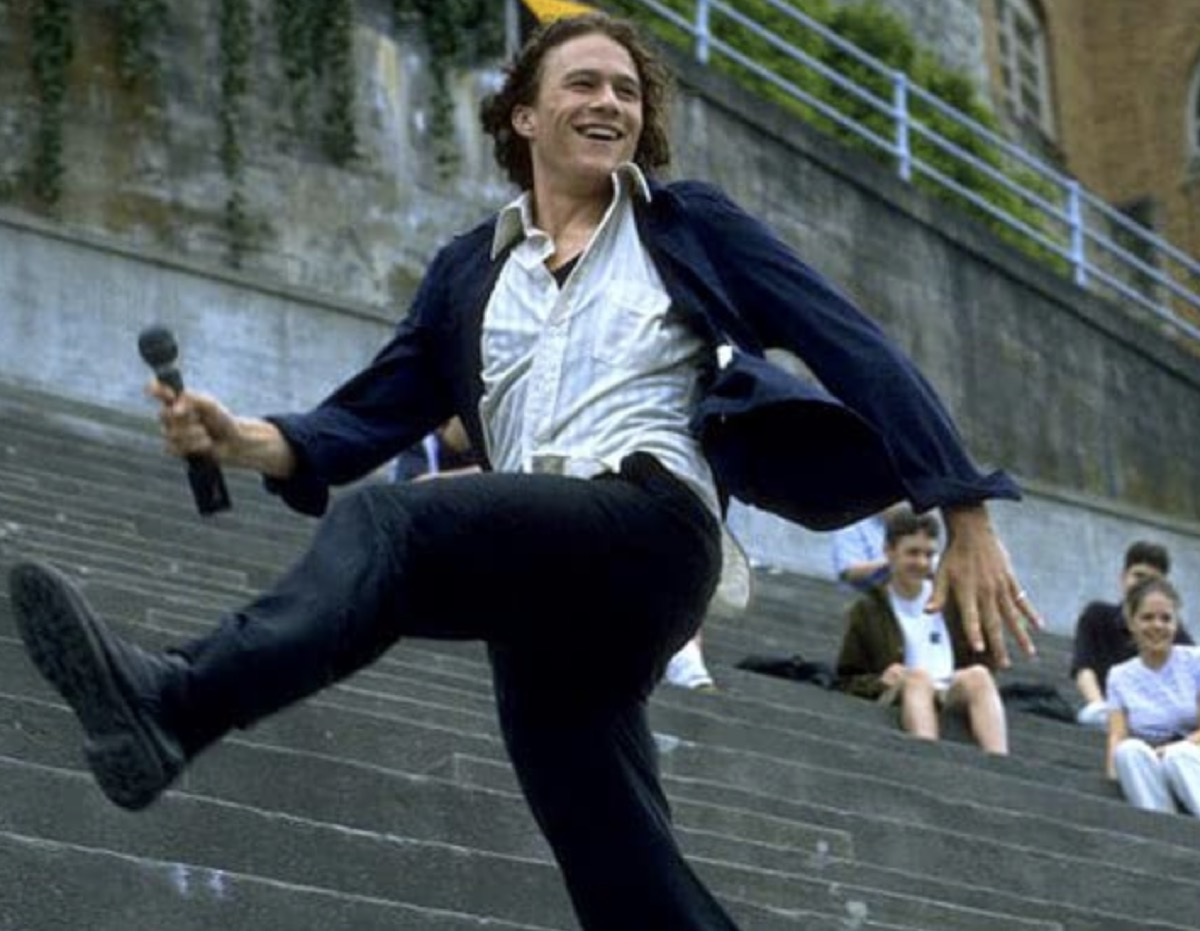 """Heath Ledger in """"10 Things I Hate About You"""""""