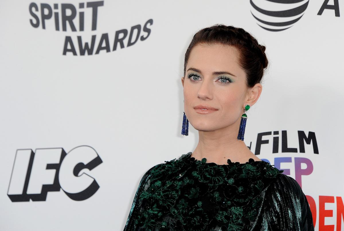 Allison Williams at the 2018 Film Independent Spirit Awards