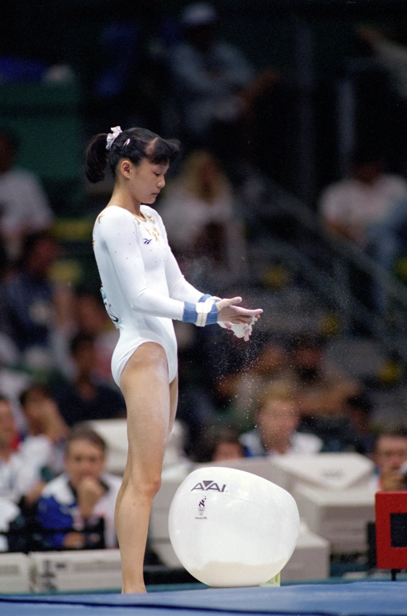 Amy Chow at the 1996 Olympics