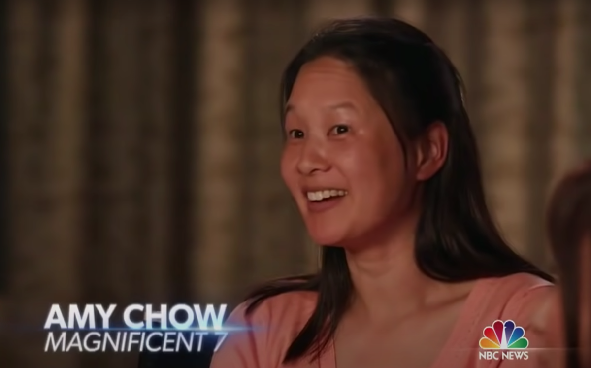 """Amy Chow on the """"Today"""" show in 2016"""
