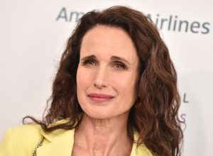 Andie MacDowell at the 8th Annual Women Making History Awards in March 2020