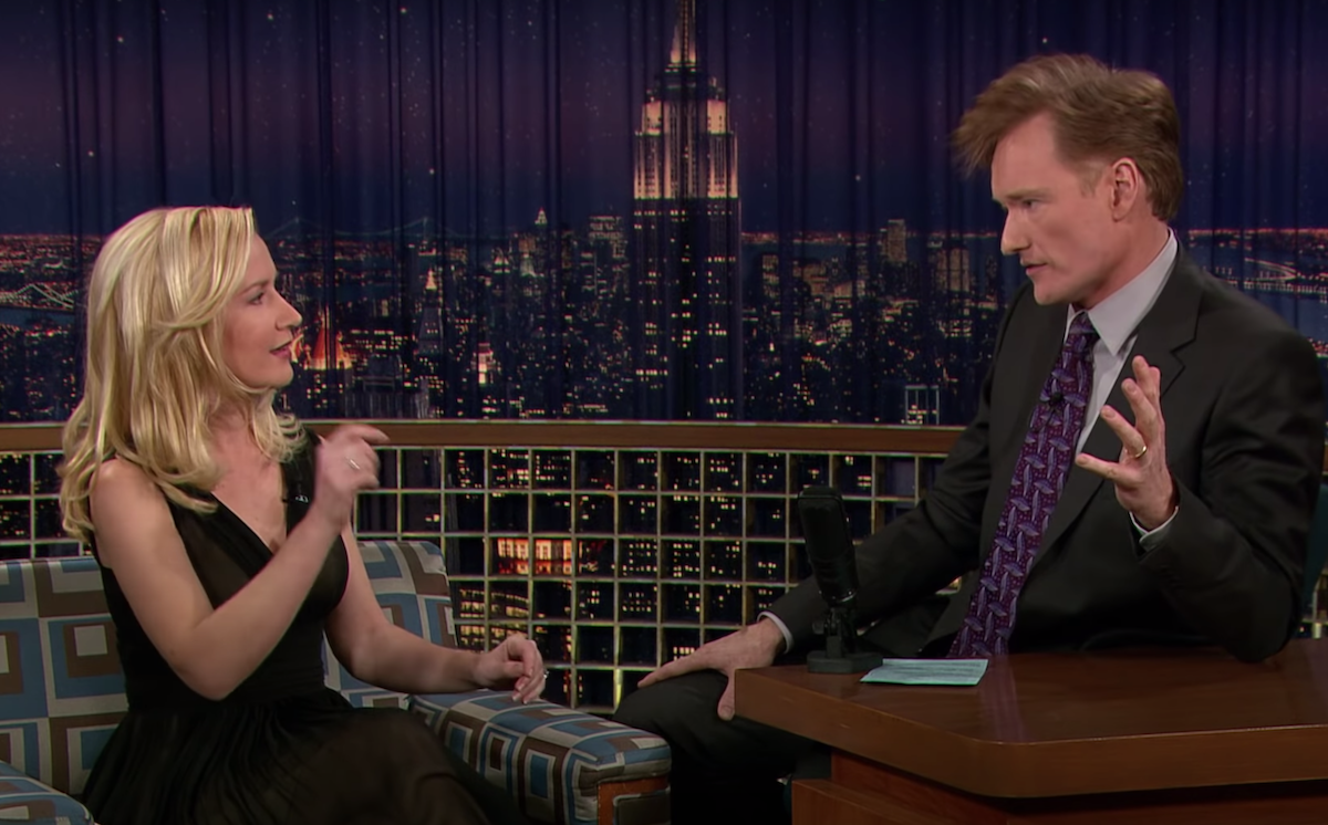 """Angela Kinsey on """"Late Night with Conan O'Brien"""" in 2006"""