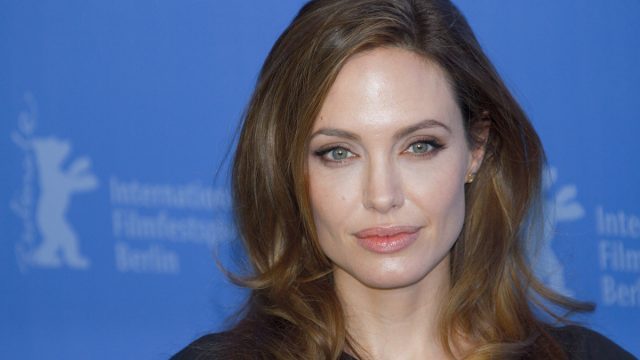 Angelina Jolie at the Berlin Film Festival in 2012