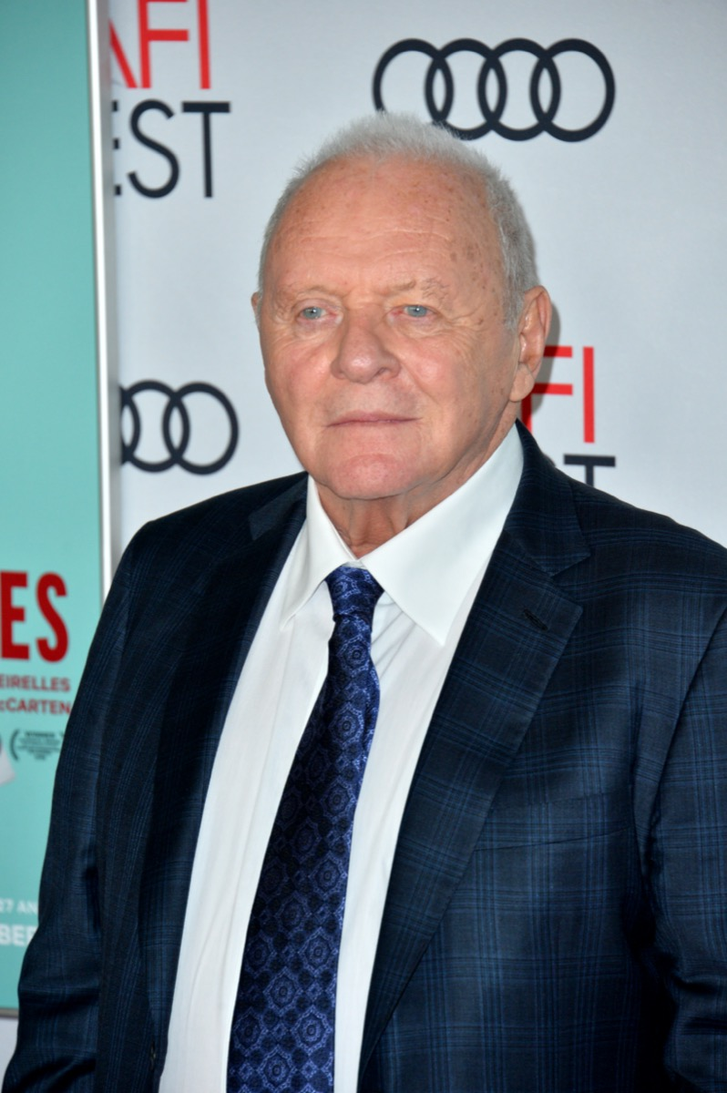 Anthony Hopkins in 2019
