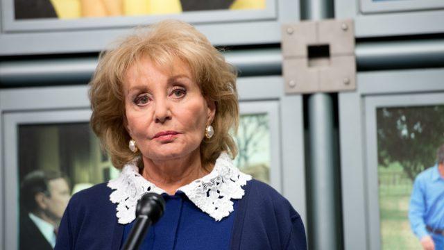 Barbara Walters in 2014