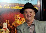 Bill Murray promoting Fantastic mr. Fox