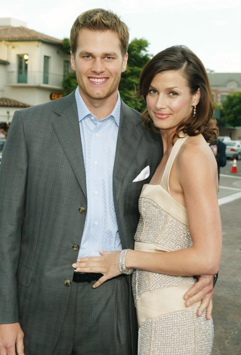 Bridget Moynahan and Tom Brady in 2004