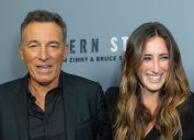 """Bruce Springsteen and Jessica Springsteen at a screening of """"Western Stars"""" in 2019"""