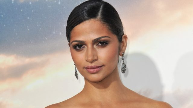 """Camila Alves at the premiere of """"Interstellar"""" in 2014"""