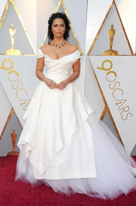 Camila Alves at the 2018 Oscars