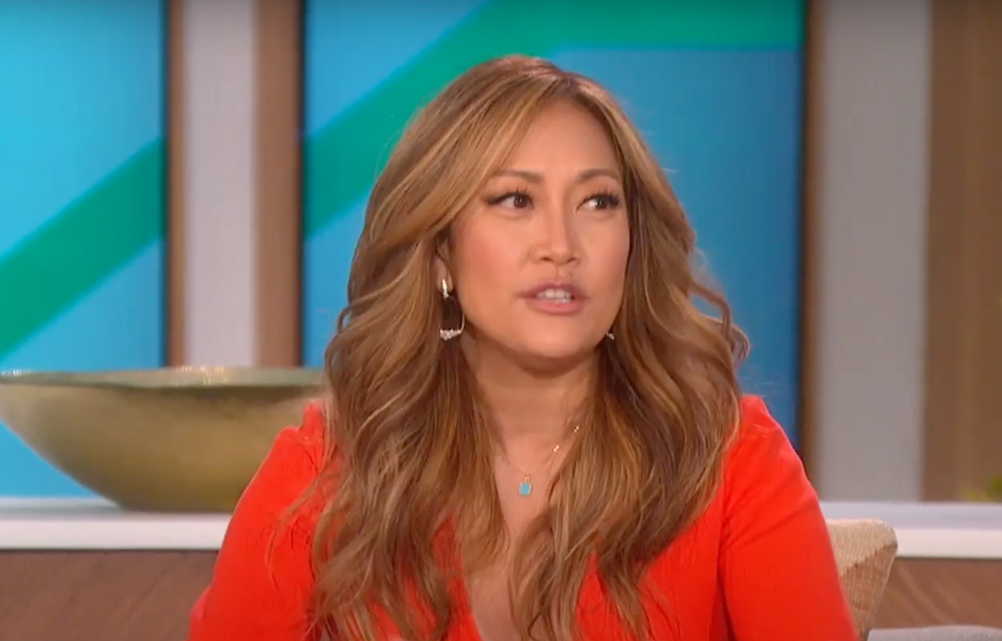 """Carrie Ann Inaba hosting """"The Talk"""" in March 2021"""