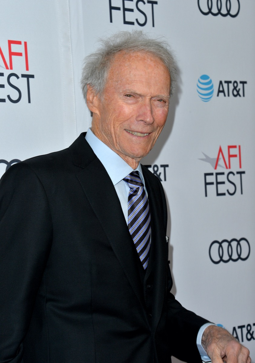 Clint Eastwood in 2019