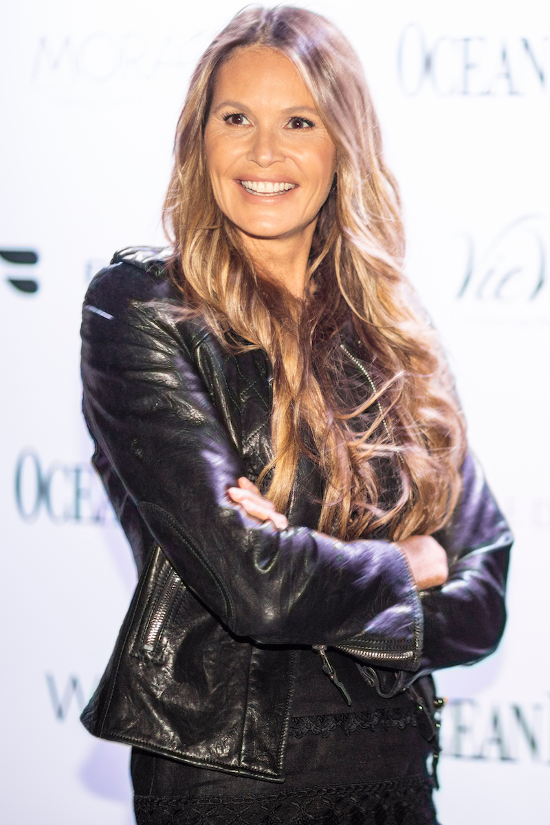 """Elle Macpherson at an event for """"Ocean Drive"""" magazine in 2019"""