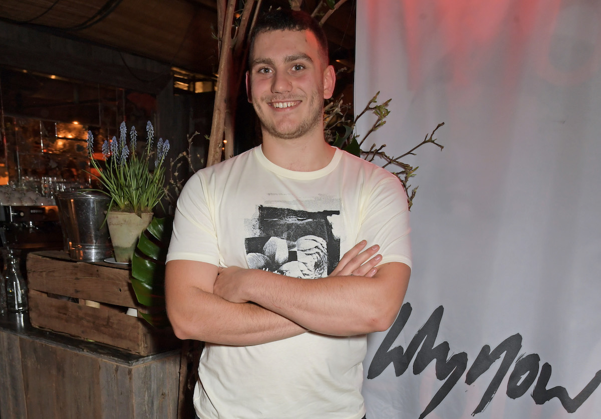 Gabriel Jagger at the launch of whynow in 2020