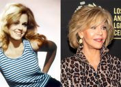 Jane Fonda in 1970 and in 2019