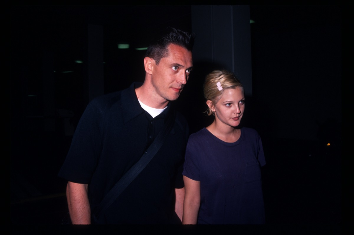 Jeremy Thomas and Drew Barrymore