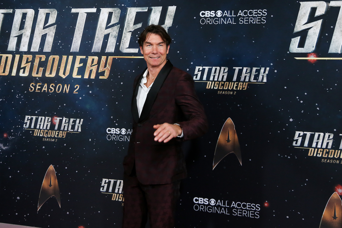 """Jerry O'Connell at the """"Star Trek: Discover"""" season 2 premiere in 2019"""