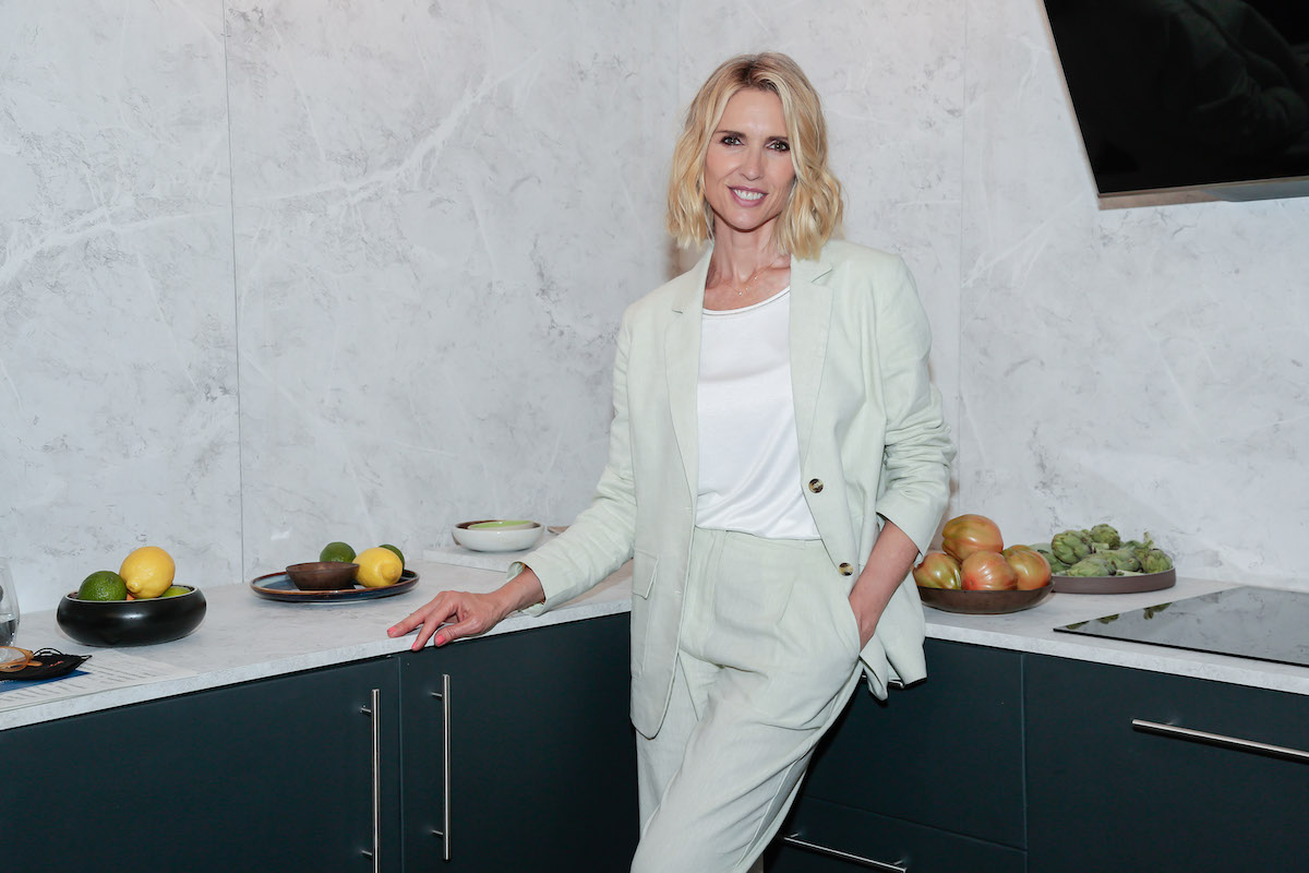 Judit Mascó at an event for Beko appliances in Barcelona, Spain in May 2021