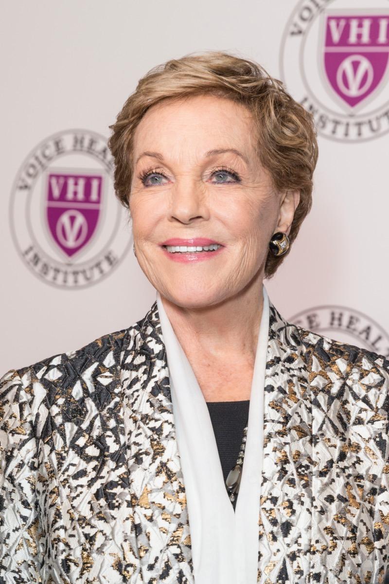 Julie Andrews in 2018