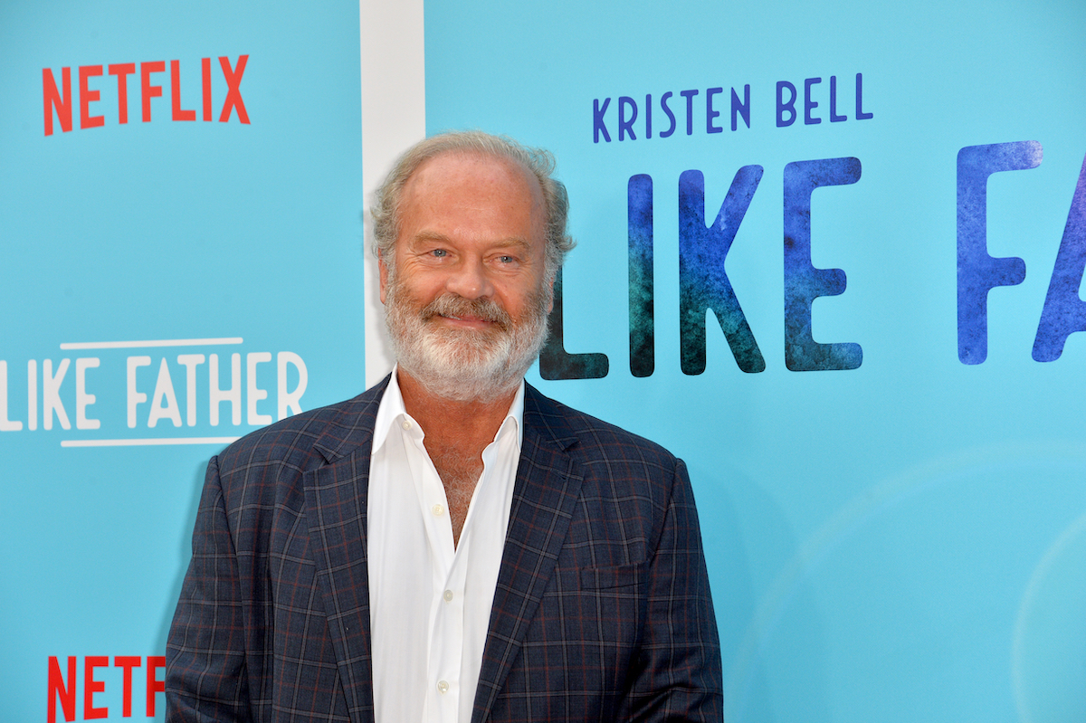 """Kelsey Grammer at the premiere of """"Like Father"""" in 2018"""