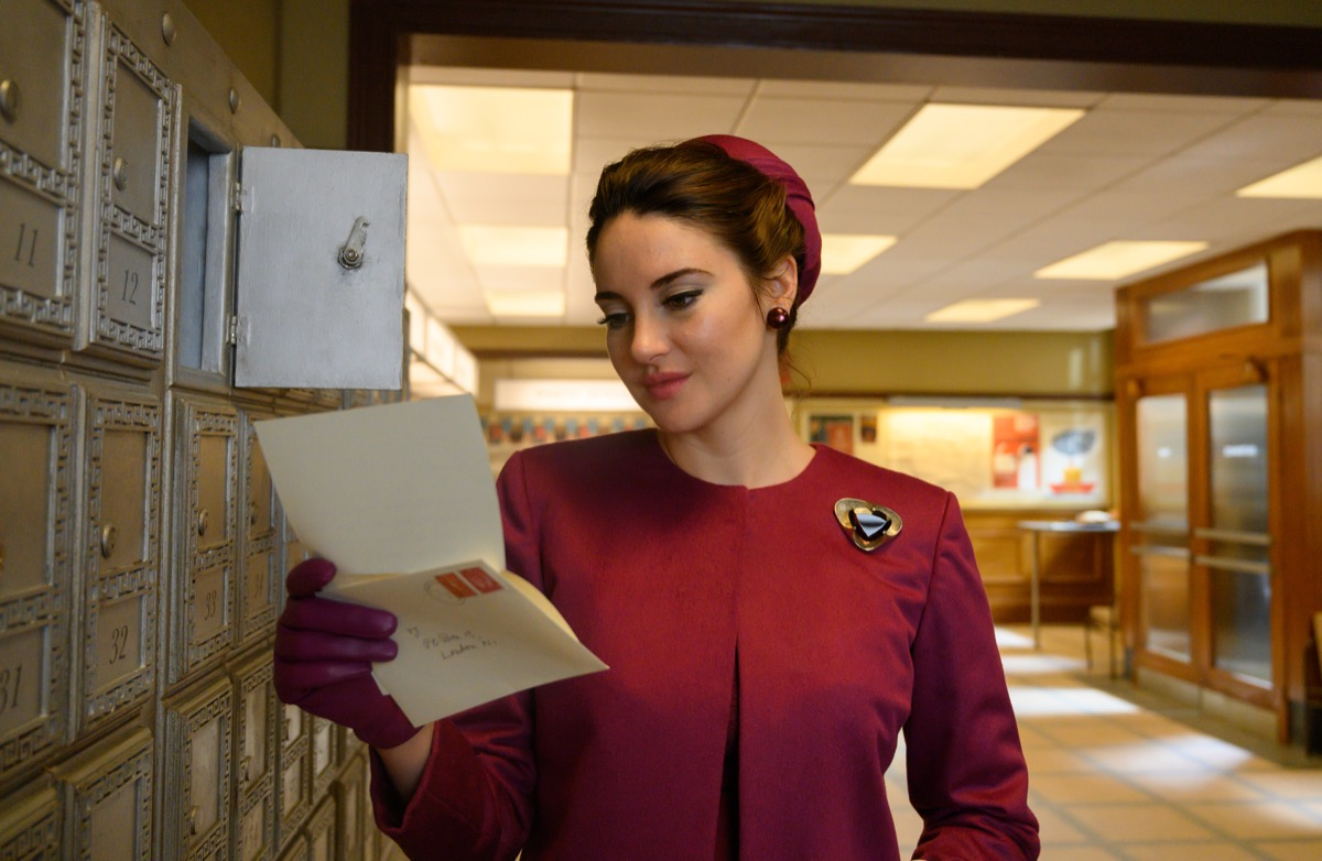 Shailene Woodley in The Last Letter From Your Lover