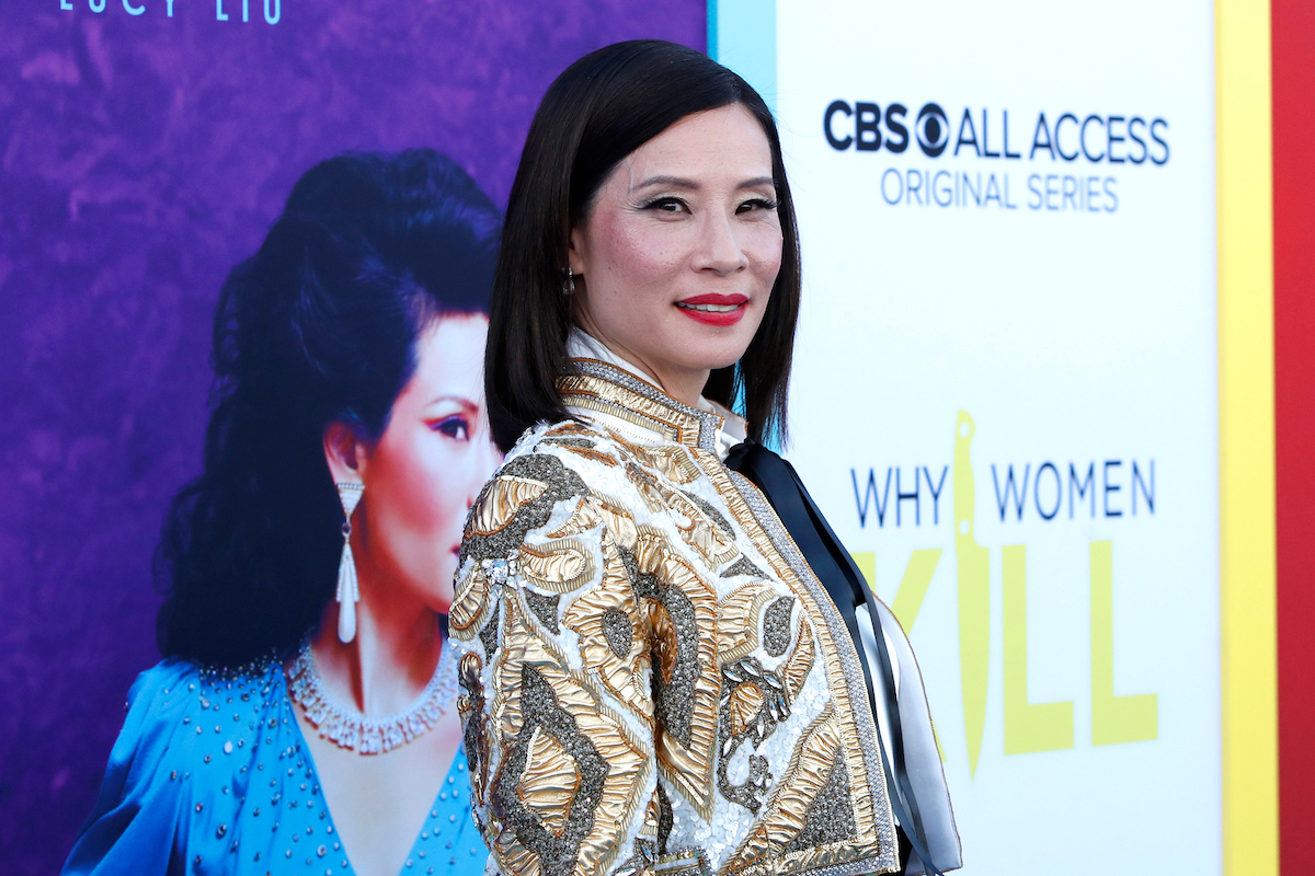 """Lucy Liu at the """"Why Women Kill"""" premiere in 2019"""