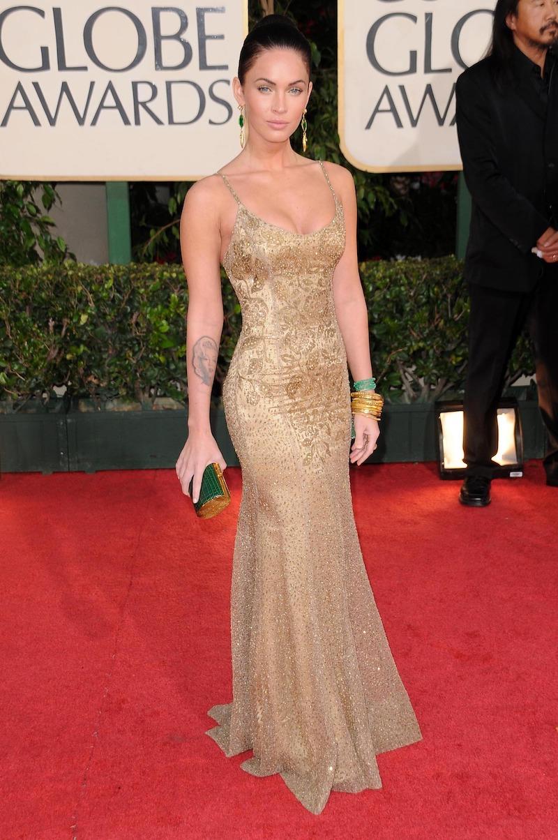 Megan Fox at the 2009 Golden Globes