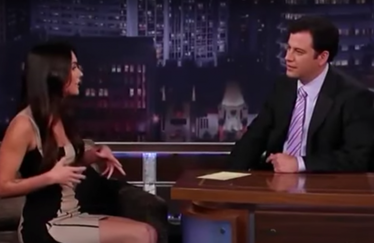 Megan Fox on Jimmy Kimmel