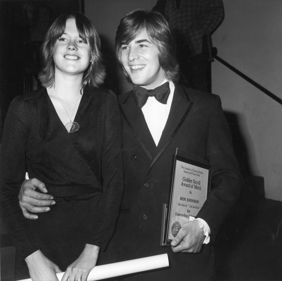 Melanie Griffith and Don Johnson in 1976