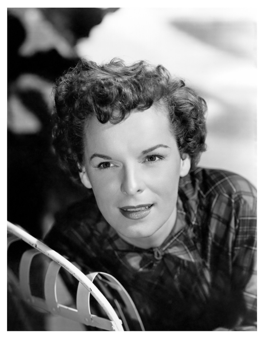Mercedes McCambridge in a publicity photo from the 1950s
