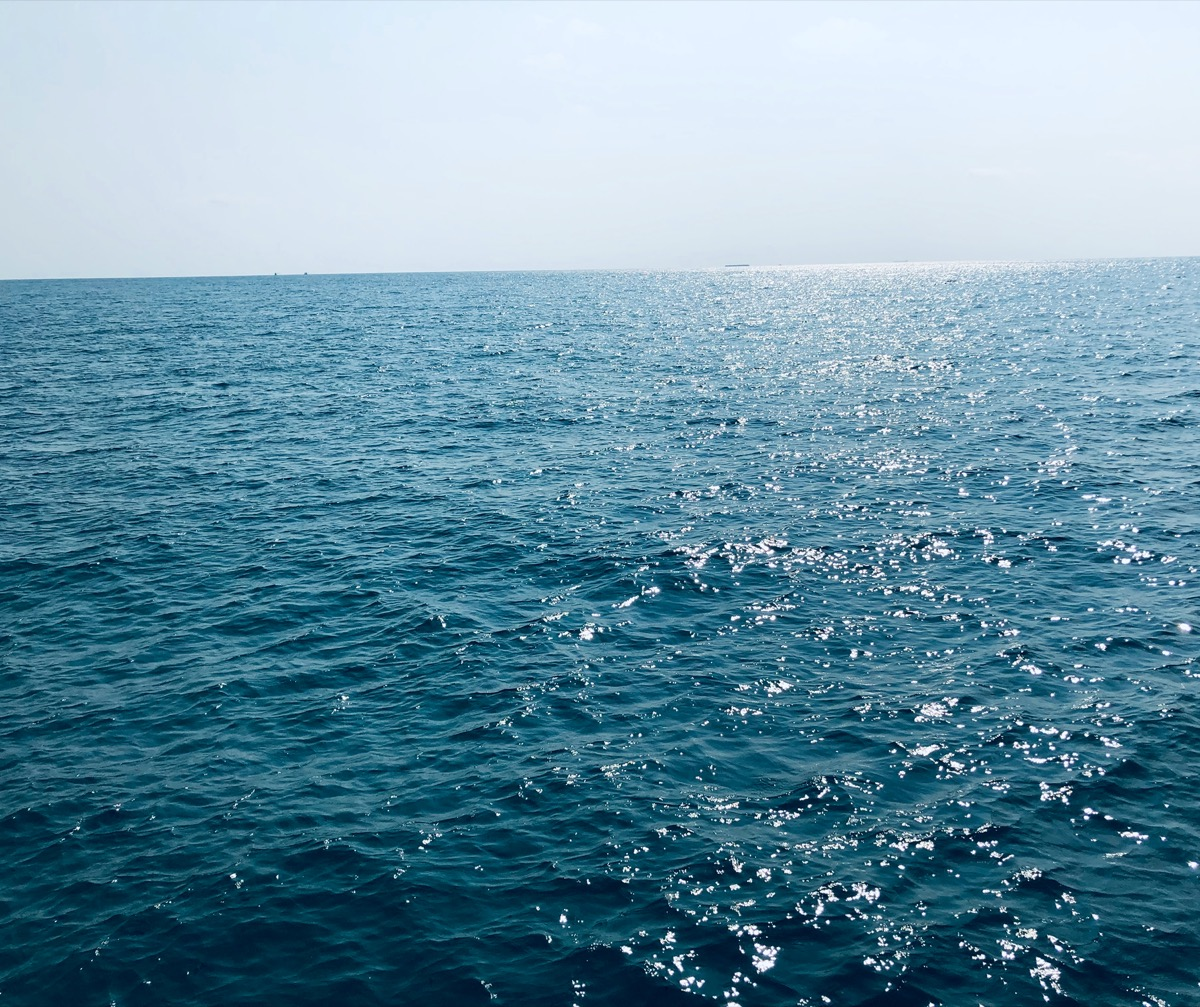 Middle of the ocean
