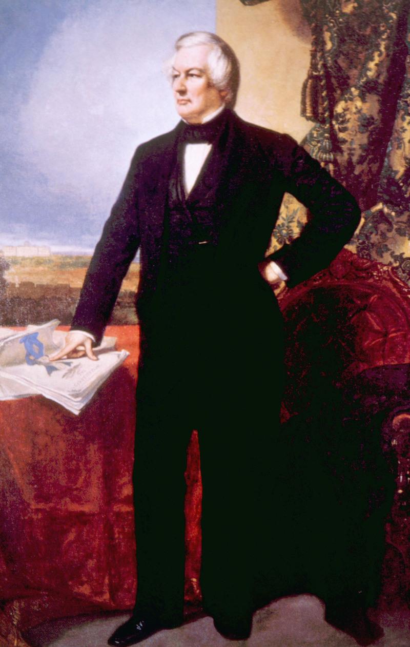 Millard Fillmore (1800-1874), U.s. President (1850-1853)