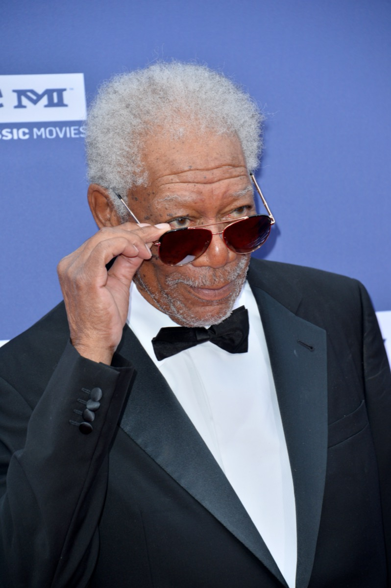 Morgan Freeman in 2019