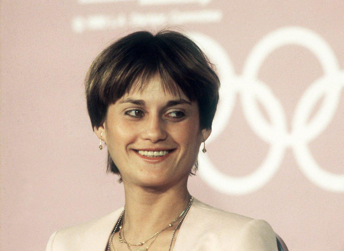 Nadia Comăneci in 1984