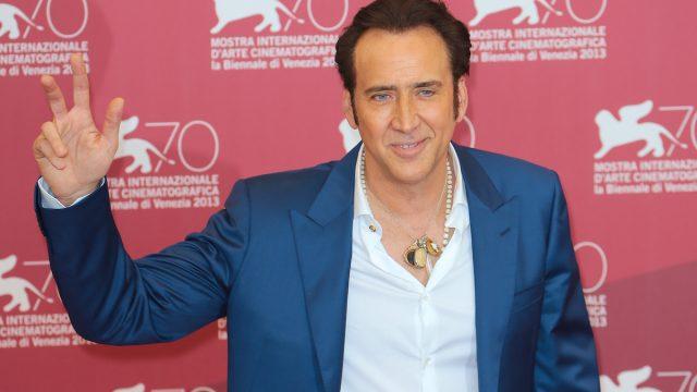 Nicolas Cage at the 2013 Venice Film Festival