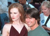 """Nicole Kidman and Tom Cruise at the premiere of """"Eyes Wide Shut"""" in 1999"""