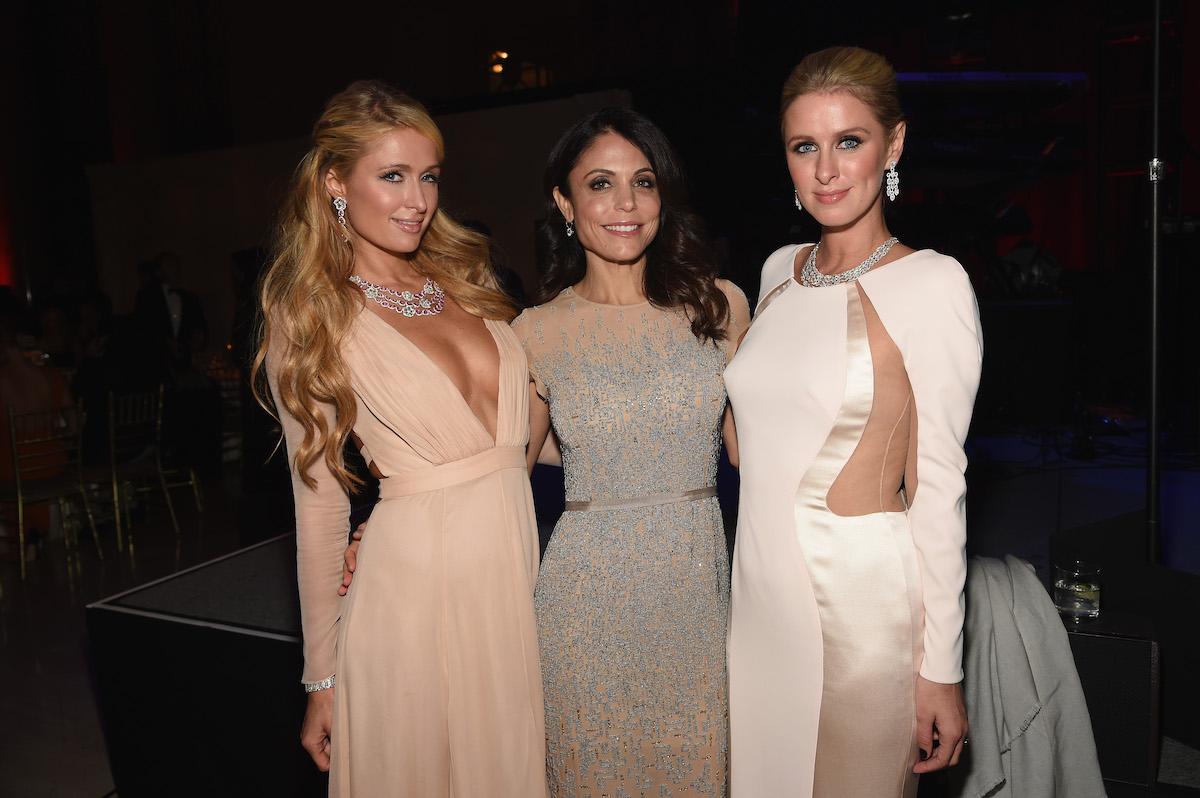 Paris Hilton, Bethenny Frankel, and Nicky Hilton at Angel Ball 2014