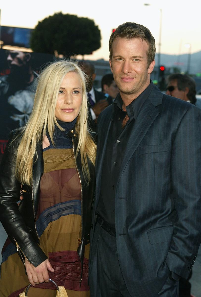 Patricia Arquette and Thomas Jane in 2004