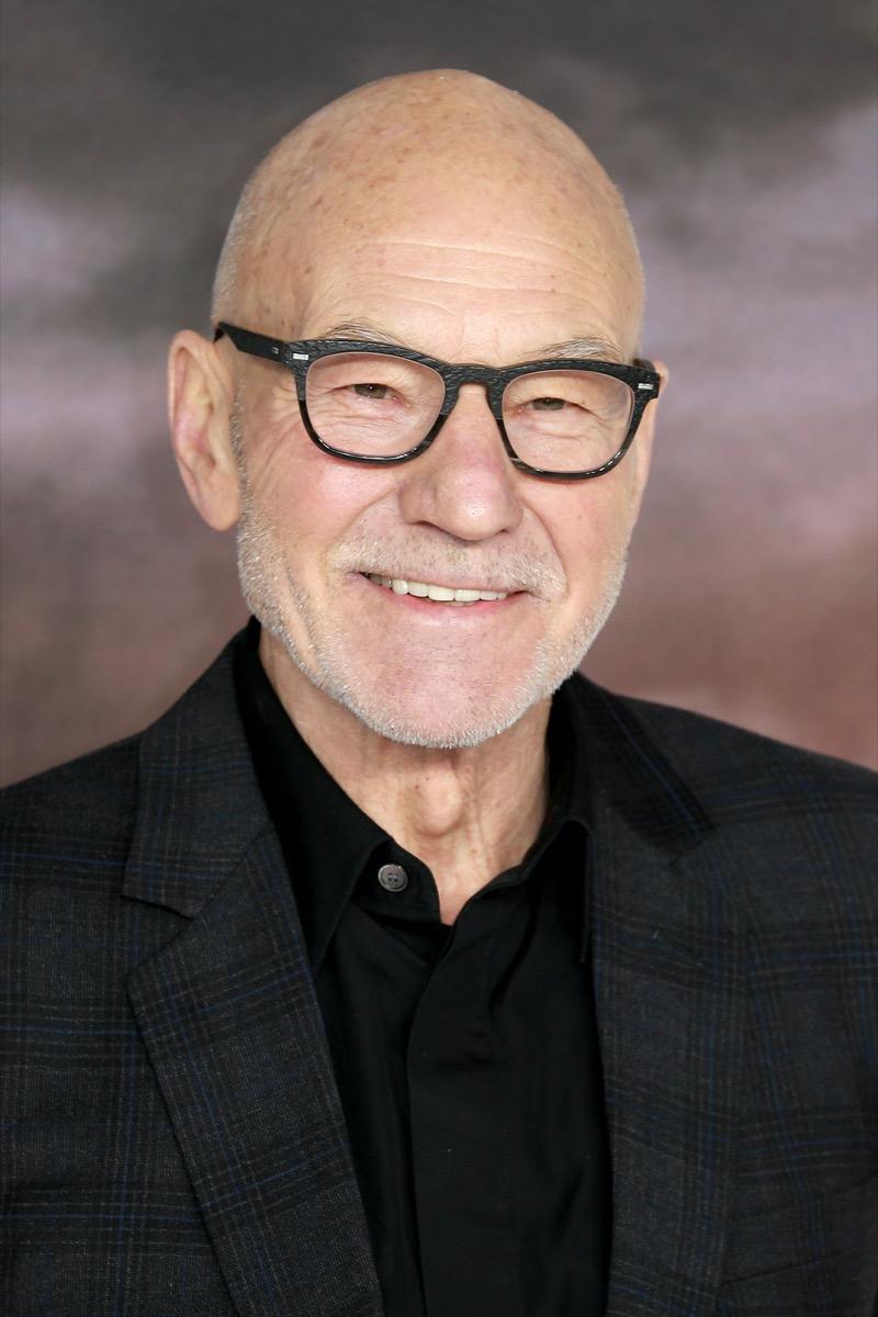 Patrick Stewart in 2020