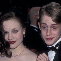 Rachel Miner and Macaulay Culkin in 1998