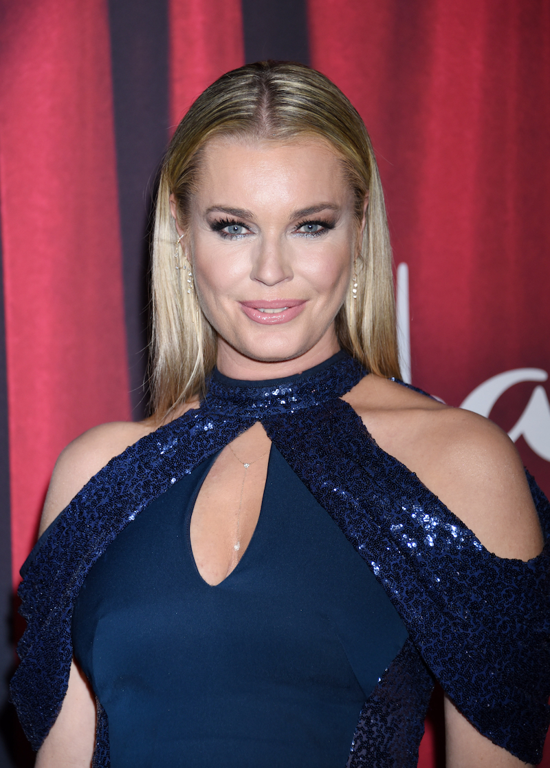 Rebecca Romijn at the 2020 American Rescue Dog Show in January 2020