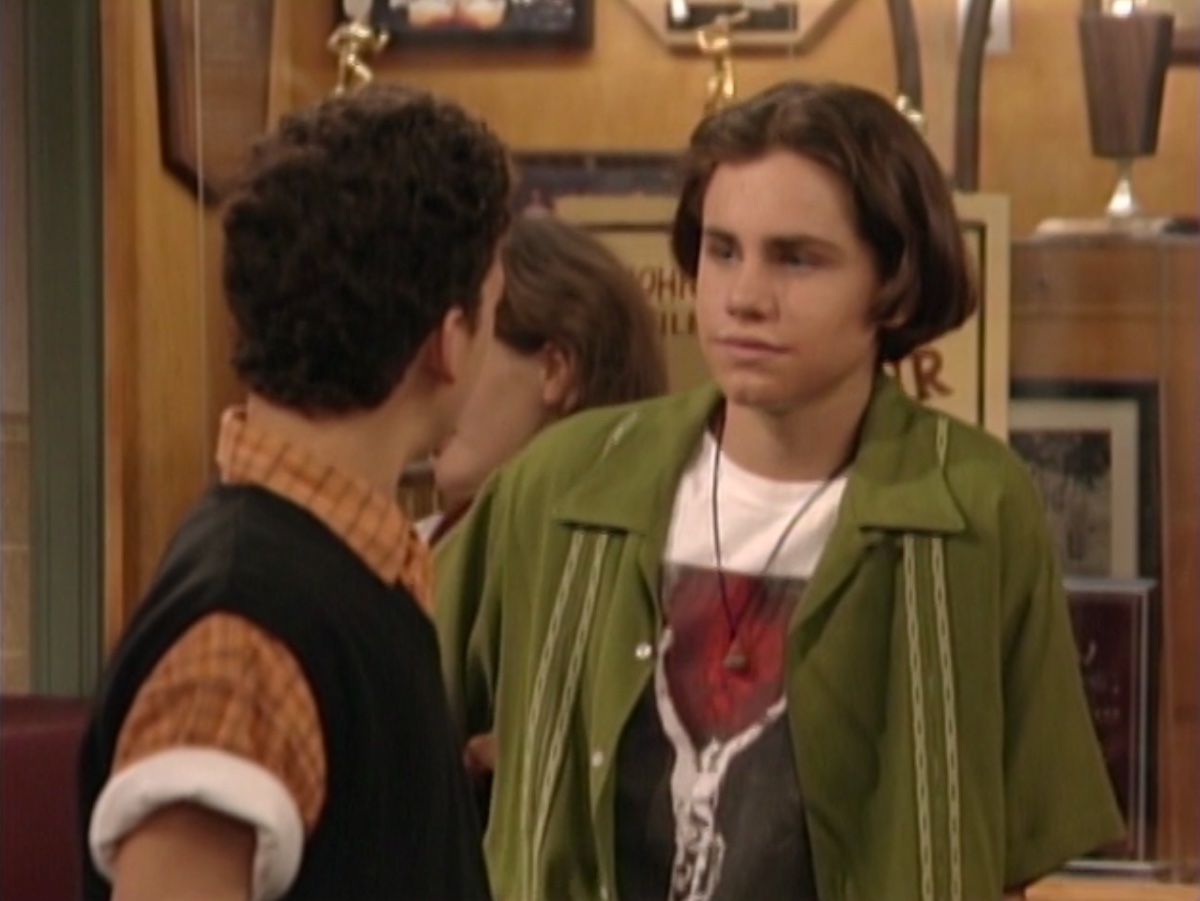 Rider Strong in Boy Meets World