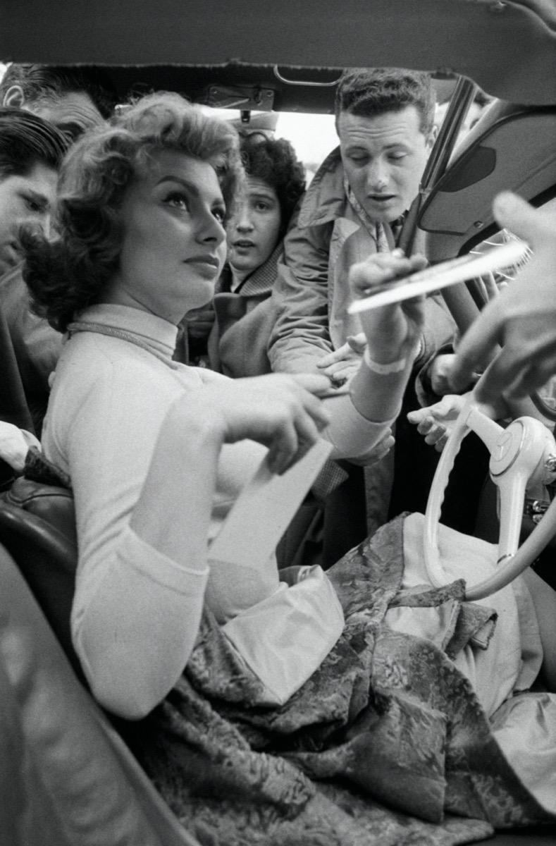 Sophia Loren in 1956