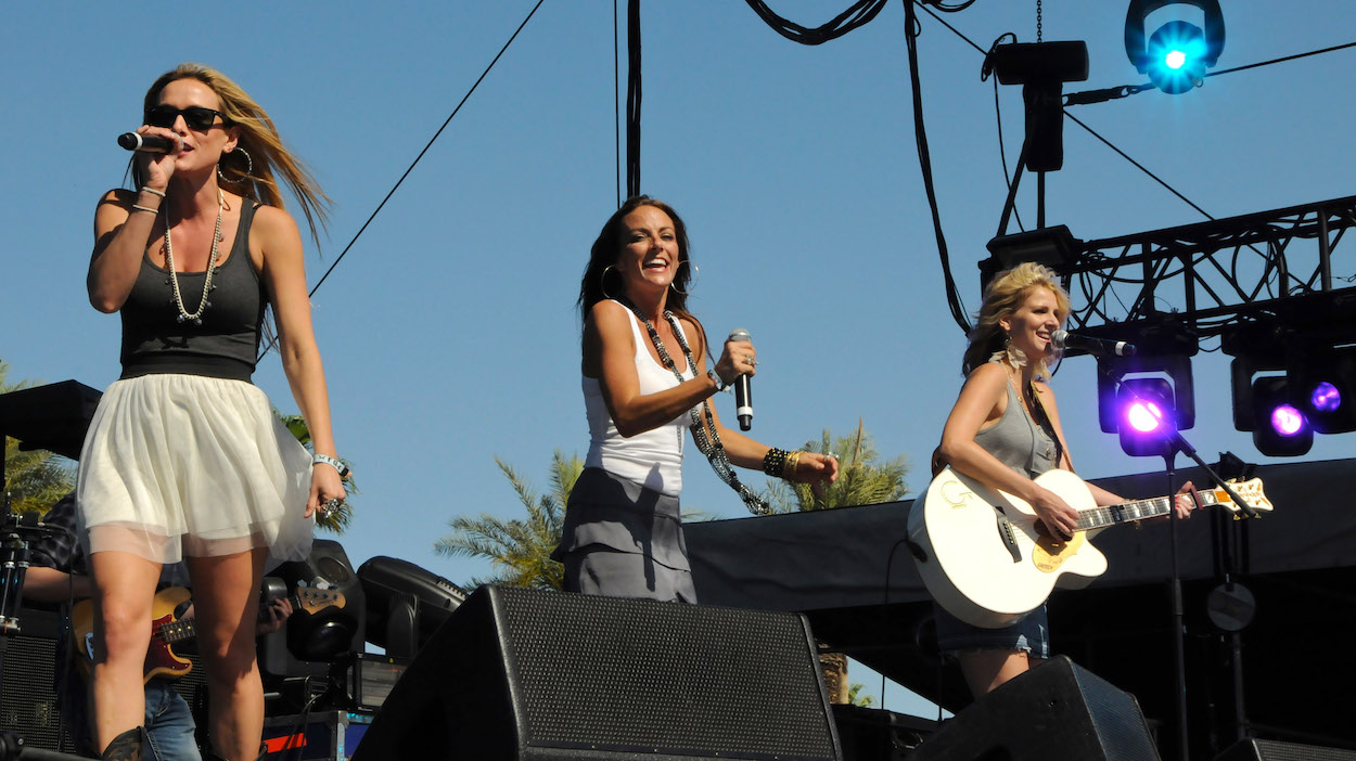 Stealing Angels performing at Stagecoach country music festival in 2011