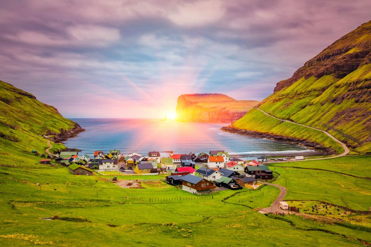 Tjornuvik in the Faroe Islands